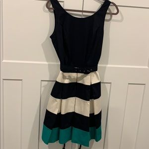 Banana Republic color block dress